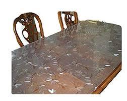 OctoRose <b>Soft Glass</b> Daisies Design Custom <b>Waterproof PVC</b>