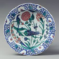 the art of the ott s before essay heilbrunn timeline dish depicting two birds among flowering plants