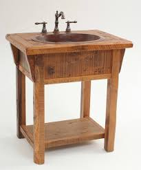 country themed reclaimed wood bathroom storage: old western decor rustic bathroom vanities and rustic vanity