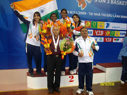 sport in members of s women s national basketball team at the 2009 asian indoor games in vietnam