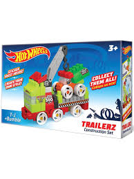 30% Bauer. Конструктор <b>Hot wheels серия trailerz</b> T-J + Bumble