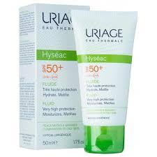 Солнцезащитный <b>флюид</b> для лица Uriage Hyséac <b>Fluide</b> SPF 50+ ...