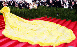 Internet Reacts To Rihanna's Canary-Yellow Met Gala Gown With ... via Relatably.com