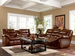 alluring living room furniture set inside contemporary with dark brown leather sofa along black rectangle coffee home black shag rug home office