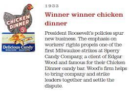 What is the origin of 'winner <b>winner</b>, <b>chicken dinner</b>!'? - Quora