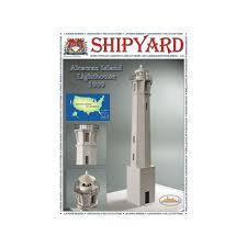 <b>Сборная картонная модель</b> Shipyard маяк Lighthouse Alcatraz ...