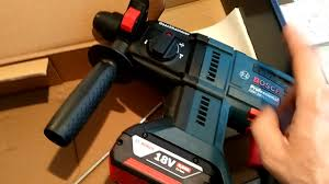 <b>Набор аккумуляторных</b> инструментов <b>Bosch</b>: перфоратор GBH ...