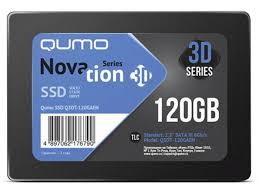 <b>Твердотельный накопитель Qumo</b> Novation TLC 3D SSD 120Gb ...