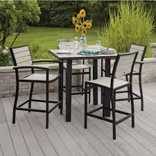 garden furniture patio uamp: bar height outdoor furniture small new bar height patio furniture