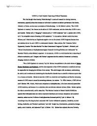 Apa style research paper on adhd