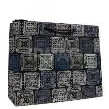 <b>Пакет подарочный</b> Санвест Орнамент (<b>32</b> х <b>26 х 12 см</b>) - IRMAG.RU
