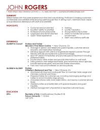 cocktail waitress job description for resume and cocktail server resume cocktail waitress resume food server job description