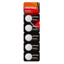 <b>Батарейка CR2032 SmartBuy</b>, 5 шт, блистер (SBBL-2032-5B ...