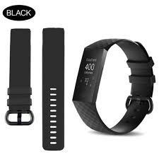 for Fitbit Charge 3 Replacement Band <b>Silicone Strap Sports</b> Wristband