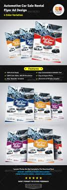best images about s sheet and flyer automotive car rental flyer ad