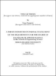 Theses  amp  Thesis Proposals