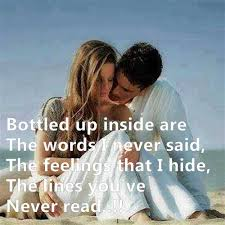Bottled up inside are | Love Quotes - Friendship quotes - life quotes via Relatably.com
