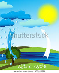 water cycle stock photos  royalty free images  amp  vectors   shutterstocksimple and clear diagram of the water cycle  vector