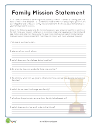 personal mission statement worksheet abitlikethis to this printable click here