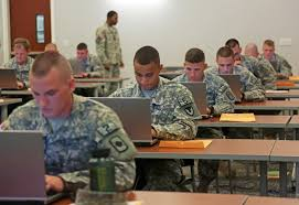 organizers competitors sma ready to out who is the army s an nco on the organizing staff observes competitors as they compose their essays during the first