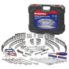 WORKPRO 164PC Tool Set Hand Tools for <b>Car Repair</b> Set of Tools ...
