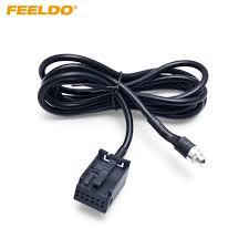Автомагнитола FEELDO, 1 шт., вспомогательный <b>аудиокабель</b> ...