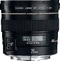 <b>Canon EF 20mm f/2.8</b> USM Overview: Digital Photography Review