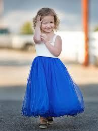<b>Lace Applique</b> Dress with Mesh Skirt   My Girl Dress