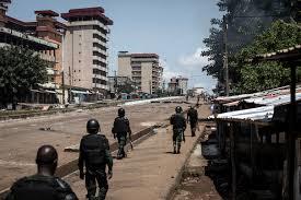 Gunfire erupts in Guinea as president heads for third term | Alpha ...