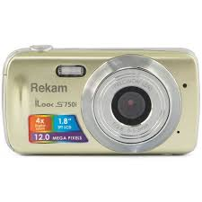 <b>Фотоаппарат Rekam iLook S750i</b> Champagne