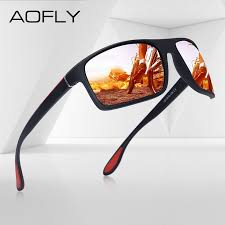 AOFLY Fashion <b>Polarized Sunglasses Men Luxury</b> Brand Designer ...