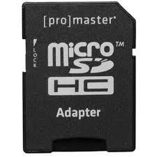ProMaster <b>32GB</b> Performance <b>Micro Secure Digital</b> #1555 - Phototec