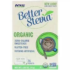 Now Foods Organic <b>Better Stevia Zero-Calorie</b> Sweetener