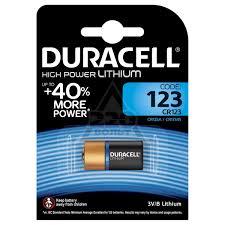 <b>Батарейка Duracell CR123</b> ULTRA (10/50/6000) Тип: CR123 (Кол ...