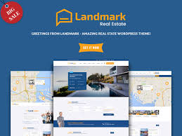 best real estate wordpress themes for agencies realtors and landmark is a wordpress theme dedicated to real estate it gives you 4 columns and a responsive layout landmark is compatible most browsers such as