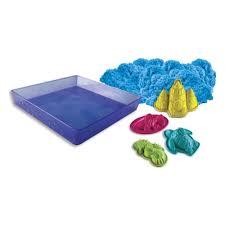 <b>Набор для лепки</b> - песок Kinetic sand 1 яркий цвет, 454 гр, лоток ...