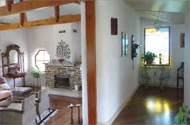 Straw bale   YourHomeA photo of the interior of a completed home constructed using straw bale walls  The