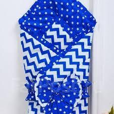 <b>Одеяло на выписку AmaroBaby</b> Zig Zag синий - Постельные ...