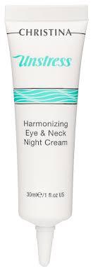 Питательный ночной <b>крем</b> для кожи вокруг глаз и шеи <b>Unstress</b> ...