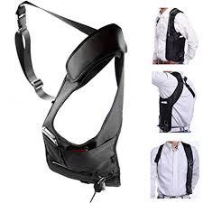 ECYC Men Security Holster Strap Messenger Bags ... - Amazon.com
