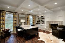 two sided desk home office transitional with animal hide rug beige animal hide rugs home office traditional
