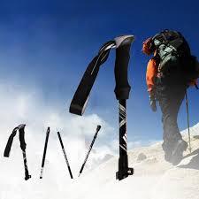 <b>Ultralight Folding</b> Aluminium Alloy Trekking Walking <b>Hiking Sticks</b> ...