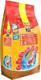 <b>Tetra Pond Koi</b> Sticks (50л) <b>Корм</b> для рыб купить в Минске