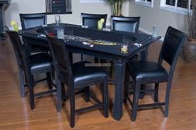 pool table dining tables: pool table dining dirtyball poker dining table with chairs riudellotsnet rockwell poker table and poker dining table