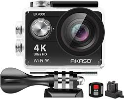 AKASO EK7000 <b>4K Sport Action</b> Camera Ultra HD Camcorder ...