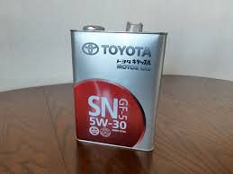 Обзор от покупателя на <b>Моторное масло TOYOTA</b> SN 5W-30 4 л ...