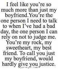 Boyfriend Quotes on Pinterest | Things About Boyfriends, Ex ... via Relatably.com