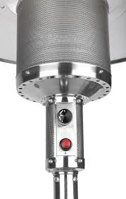 output stainless patio heater: stainless steel commercial patio heater   stainless steel commercial patio heater