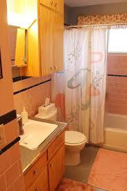 pink cast iron drop bathroom sink