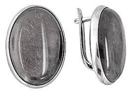 Эстет <b>Серьги с агатами из</b> серебра С15С451382 — купить по ...